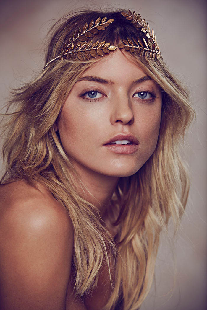 free people holiday3 Martha Hunt Charms in Free Peoples Holiday 2013 Shoot