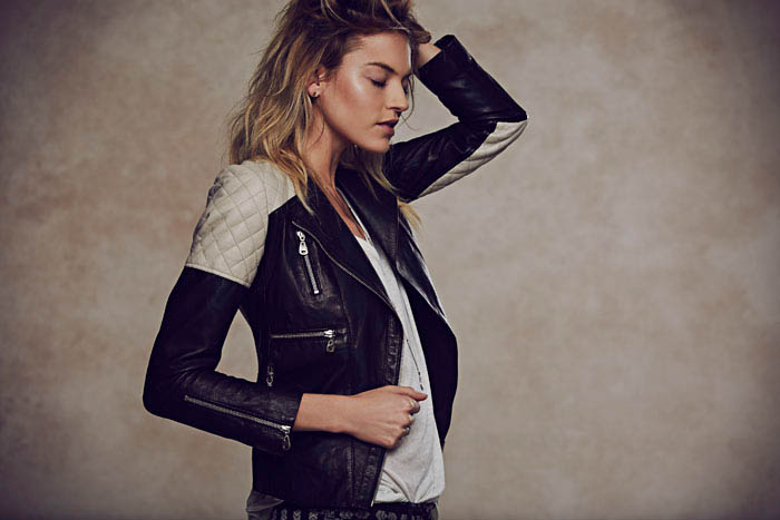 free people holiday5 Martha Hunt Charms in Free Peoples Holiday 2013 Shoot