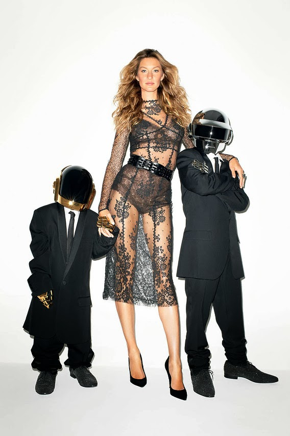 gisele bundchen terry richardson5 See More Photos of Gisele Bundchen + Daft Punk by Terry Richardson for WSJ