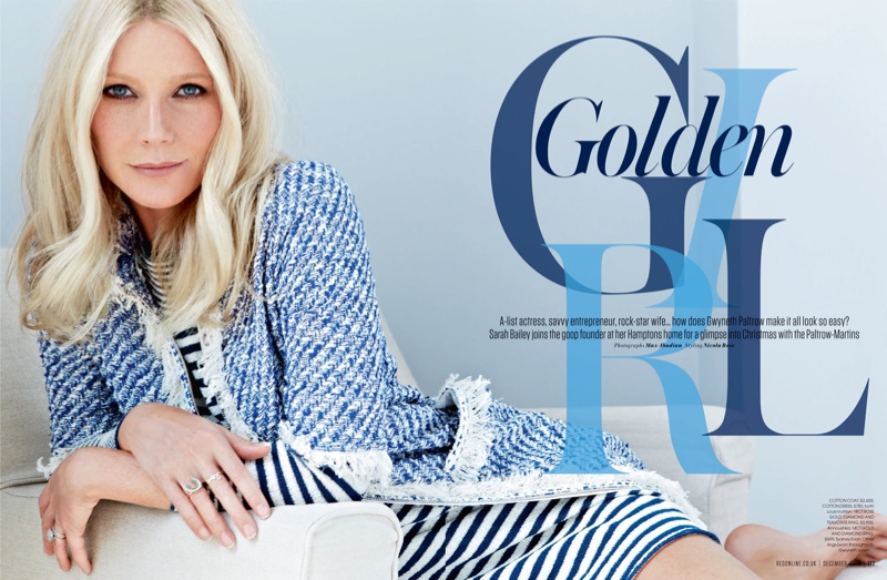gwyneth paltrow pictures1 Gwyneth Paltrow Poses for Max Abadian in Red Magazine Cover Shoot