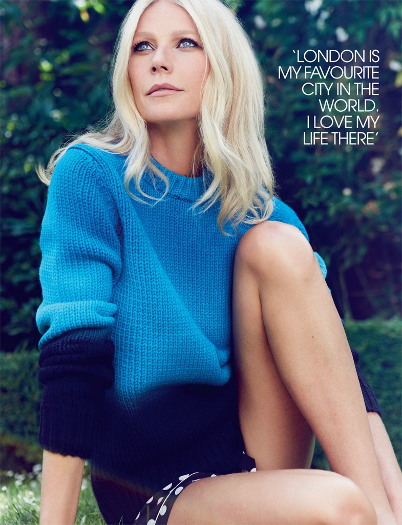 gwyneth paltrow pictures2 Gwyneth Paltrow Poses for Max Abadian in Red Magazine Cover Shoot