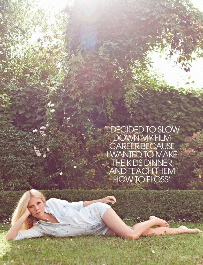 gwyneth paltrow pictures3 Gwyneth Paltrow Poses for Max Abadian in Red Magazine Cover Shoot