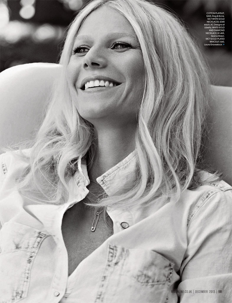 gwyneth paltrow pictures5 Gwyneth Paltrow Poses for Max Abadian in Red Magazine Cover Shoot