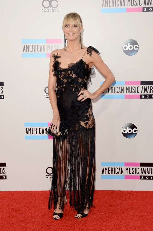 heidi klum marchesa dress Taylor Swift, Katy Perry, Miley Cyrus + More Star Style at the 2013 AMAs