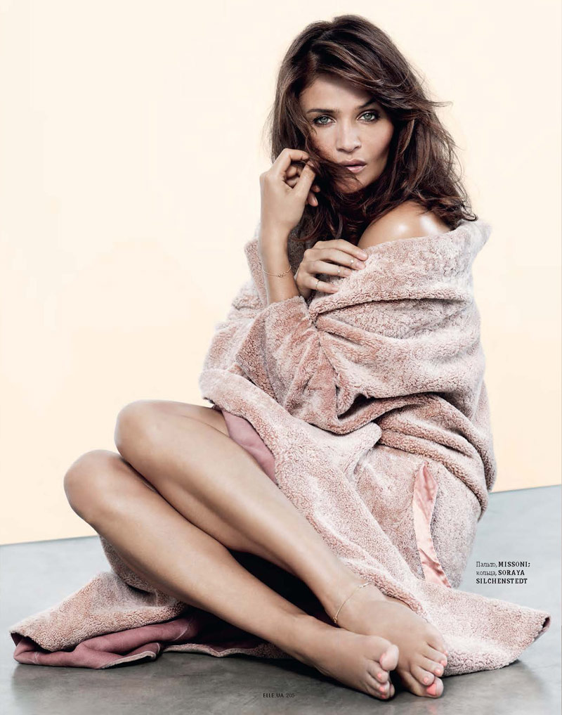 helena christensen pictures3 Helena Christensen Shines for Eric Guillemain in Elle Ukraine Shoot