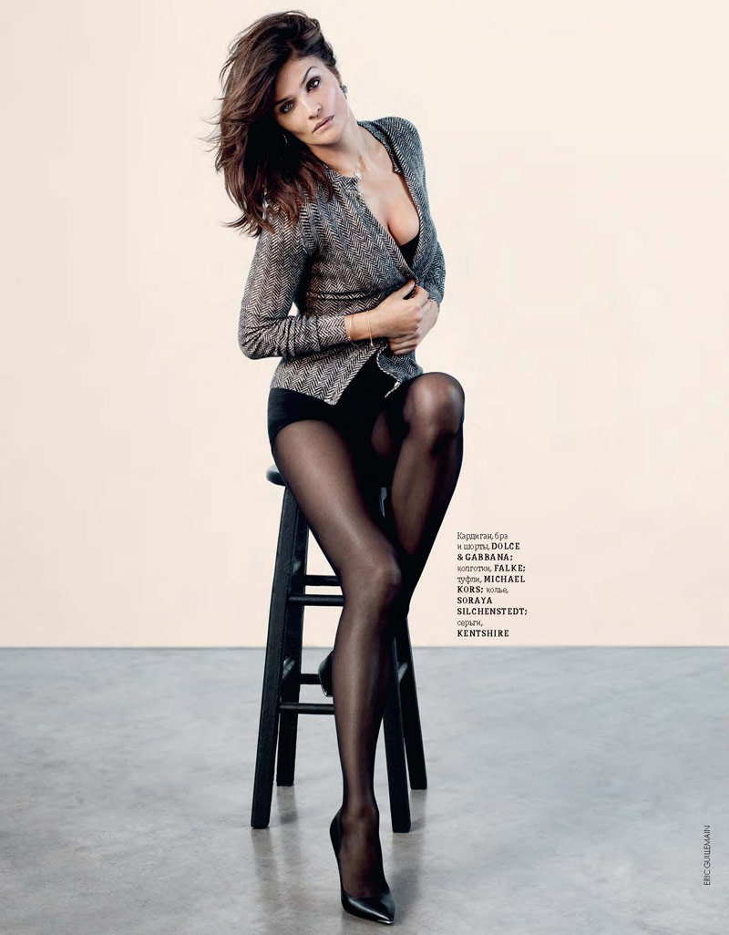 helena christensen pictures5 Helena Christensen Shines for Eric Guillemain in Elle Ukraine Shoot