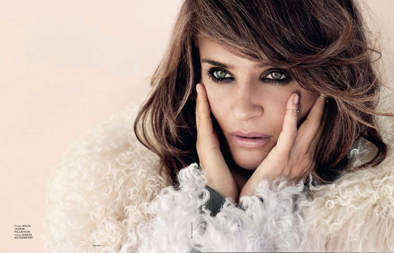helena christensen pictures7 Helena Christensen Shines for Eric Guillemain in Elle Ukraine Shoot