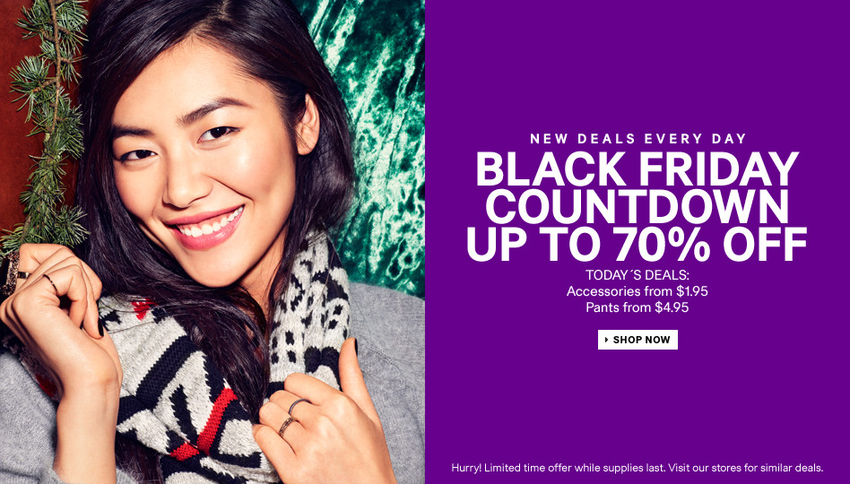 See H&M's Black Friday 2013 Deals