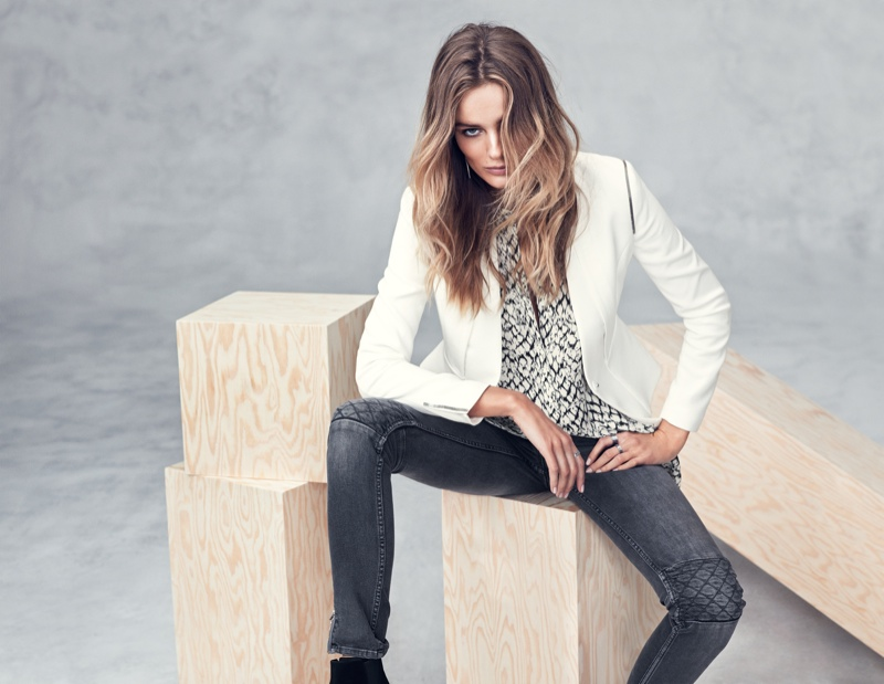 hm fall winter2 Edita Vilkeviciute Models Fall/Winter Styles for H&M