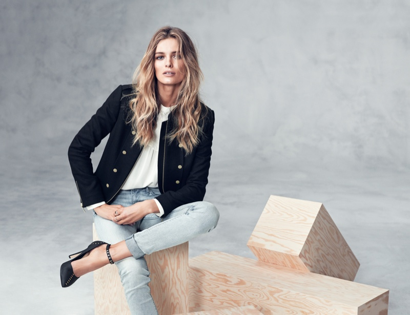 hm fall winter3 Edita Vilkeviciute Models Fall/Winter Styles for H&M