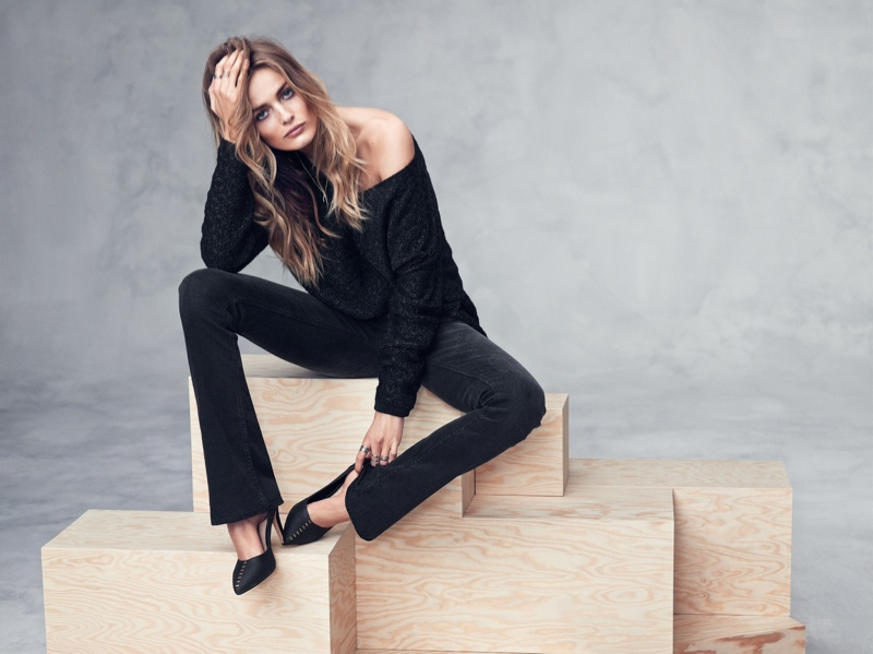 hm fall winter5 Edita Vilkeviciute Models Fall/Winter Styles for H&M
