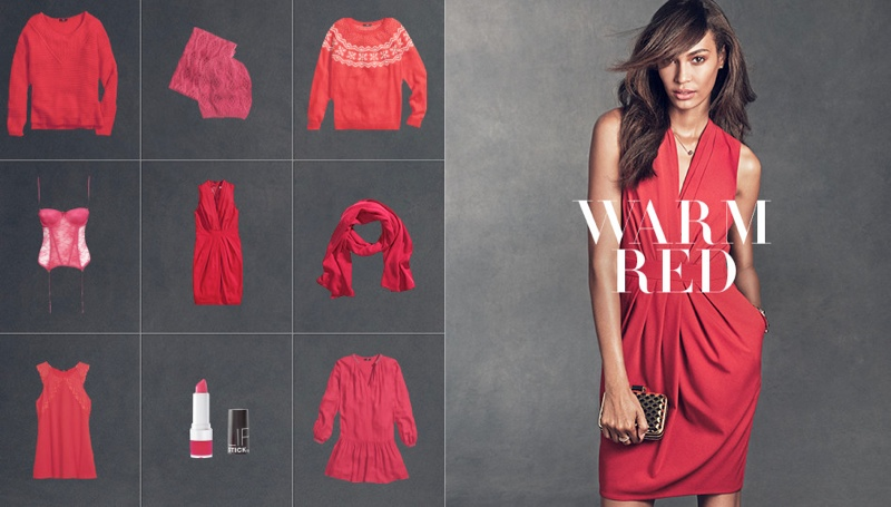 hm gift guide3 Joan Smalls & Hana Jirickova Star in H&Ms Holiday Trend Guide
