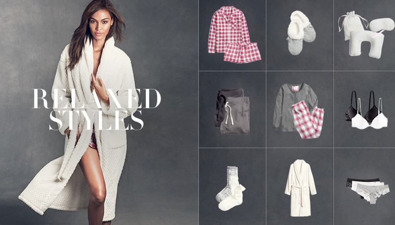 hm gift guide9 Joan Smalls & Hana Jirickova Star in H&Ms Holiday Trend Guide