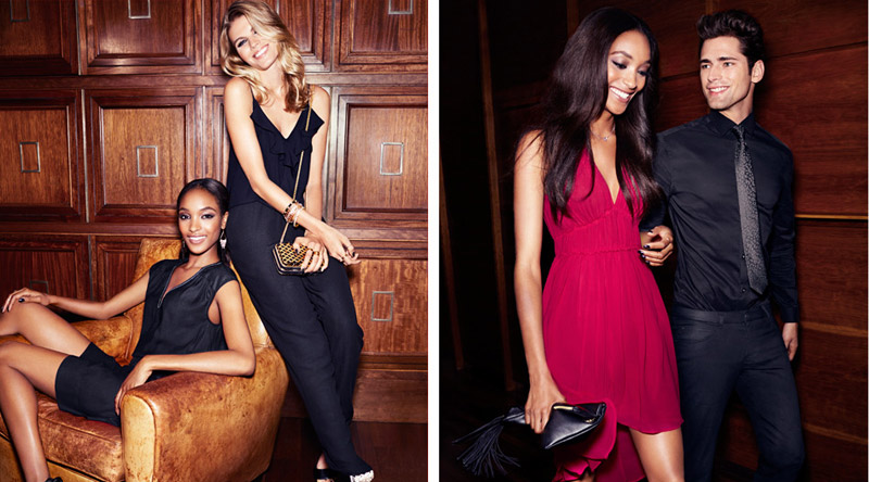 hm night life5 Jourdan Dunn, Cameron Russell + More Star in H&M Trend Shoot