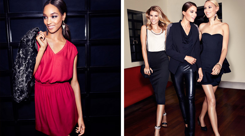 hm night life7 Jourdan Dunn, Cameron Russell + More Star in H&M Trend Shoot