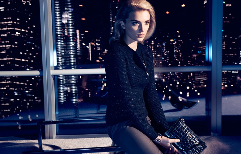 hugo boss holiday1 Lily Donaldson Fronts Hugo Boss Holiday 2013 Ads