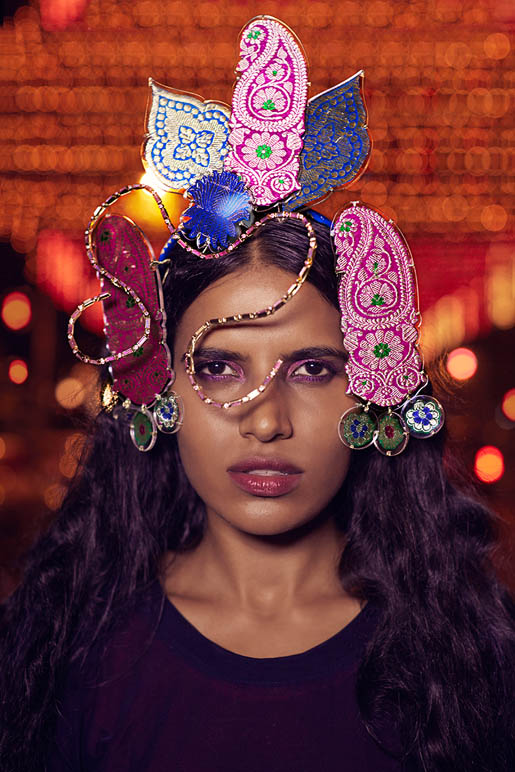 Preeti Dhata Models Indian Wedding Couture for Grazia Spread