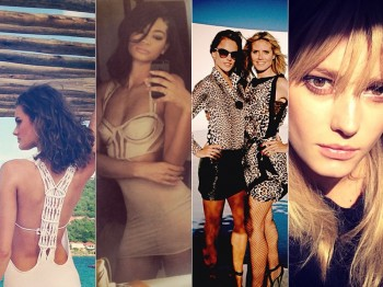 Instagram Photos of the Week | Liu Wen, Alessandra Ambrosio + More Model Pics