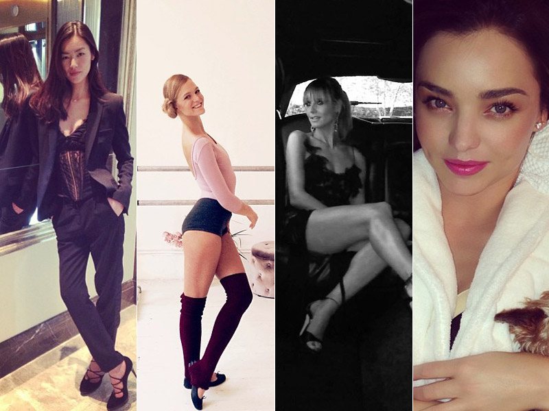 Instagram Photos of the Week | Barbara Palvin, Heidi Klum + More Model Pics