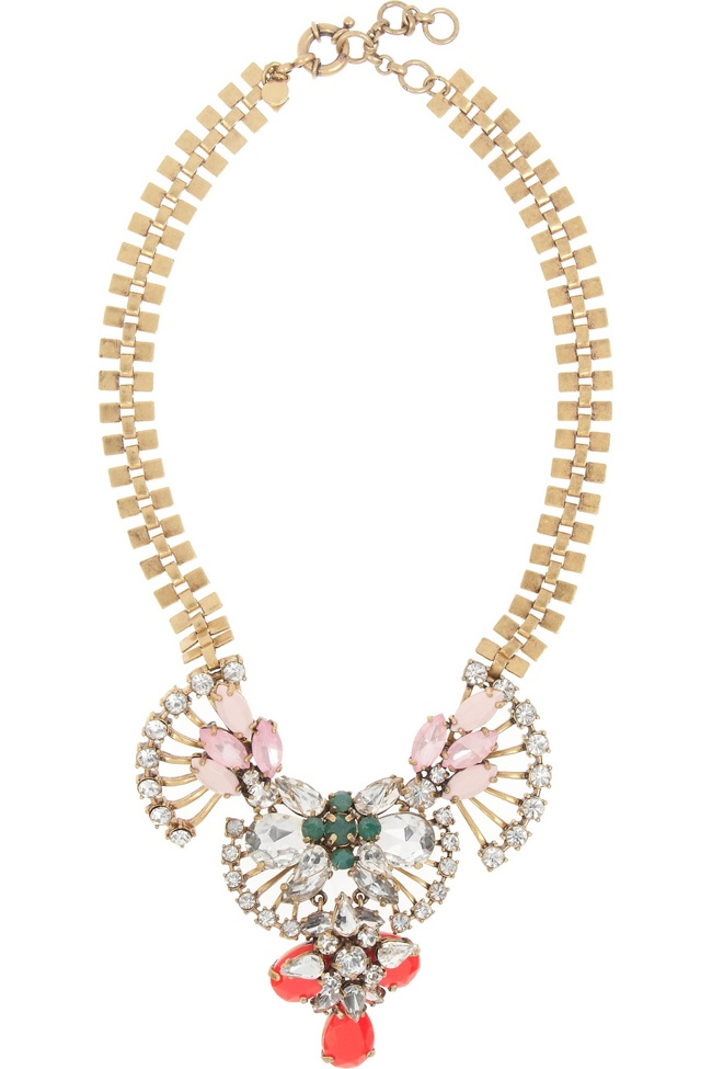 j crew fan necklace Holiday Gift Guide 2013 | 16 Jewelry Pieces