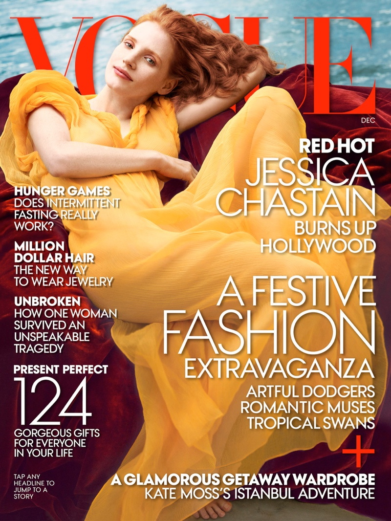 jessica annie leibovitz4 More Photos of Jessica Chastain for Vogue by Annie Leibovitz