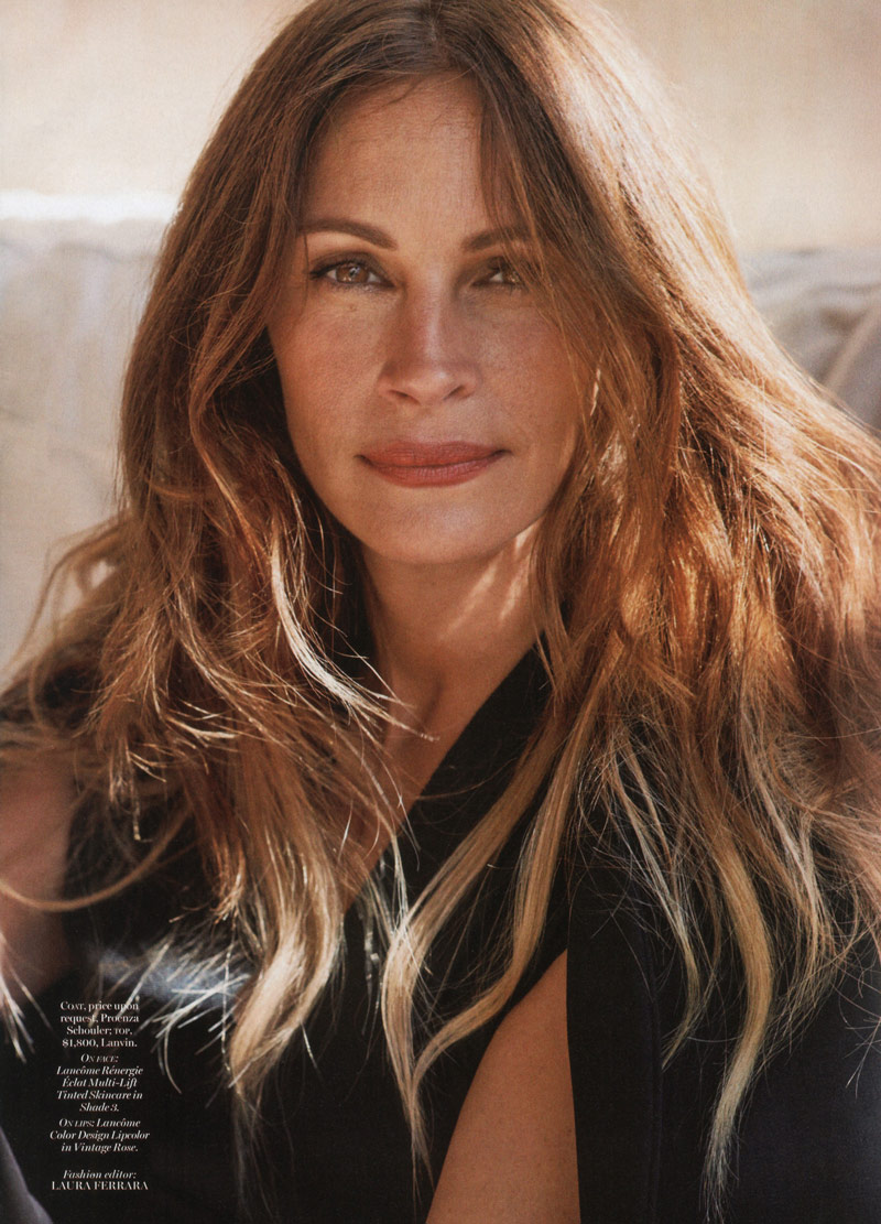 julia roberts2 Julia Roberts Appears in the December 2013 Cover Story of Marie Claire