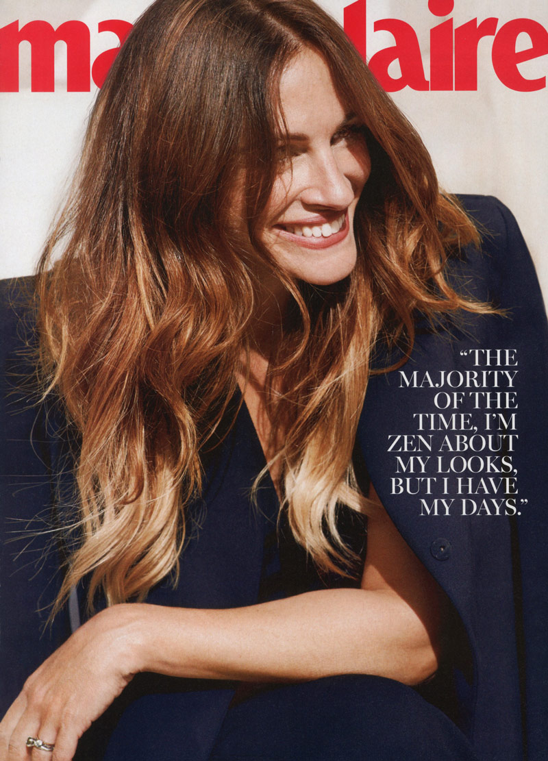 julia roberts7 Julia Roberts Appears in the December 2013 Cover Story of Marie Claire