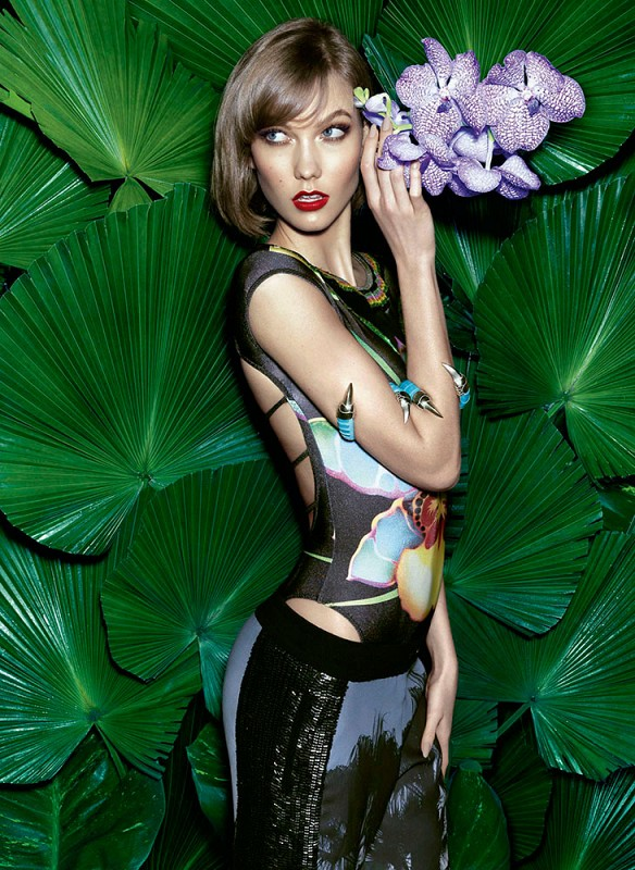 karlie kloss pictures1 Karlie Kloss Sizzles in Vogue Brazil Spread by Henrique Gendre