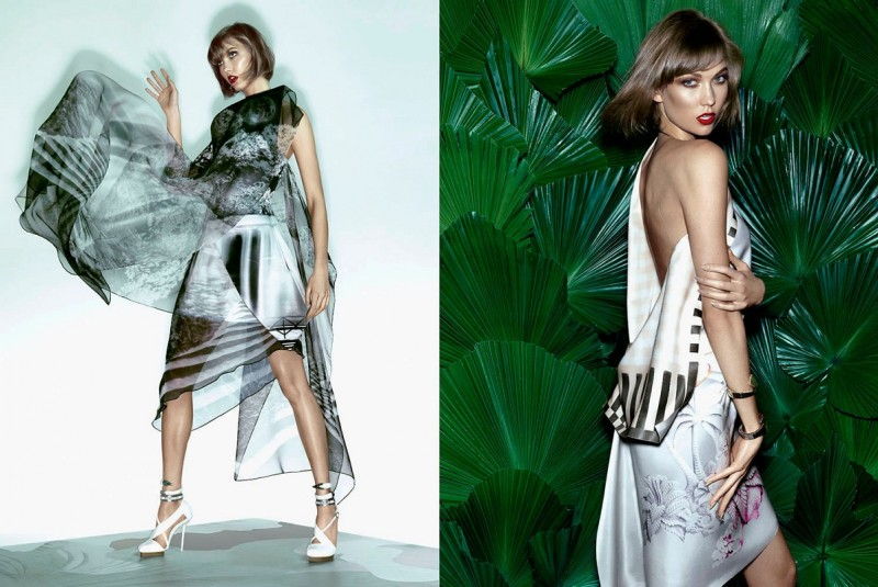 karlie kloss pictures5 800x535 Karlie Kloss Sizzles in Vogue Brazil Spread by Henrique Gendre