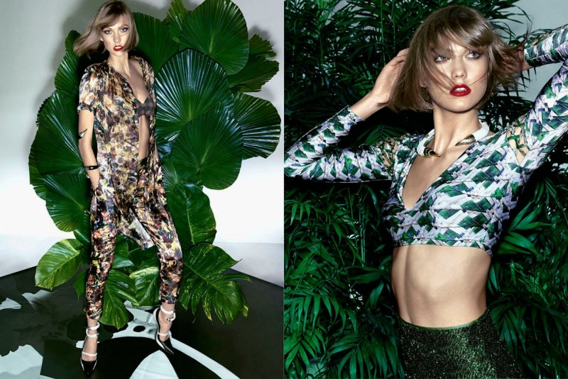 karlie kloss pictures8 800x535 Karlie Kloss Sizzles in Vogue Brazil Spread by Henrique Gendre
