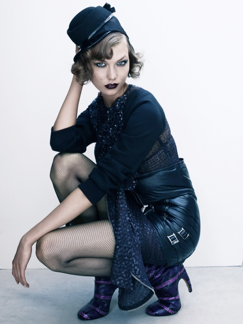 karlie kloss victor demarchelier1 Karlie Kloss Stuns in Antidote Magazine Shoot by Victor Demarchelier