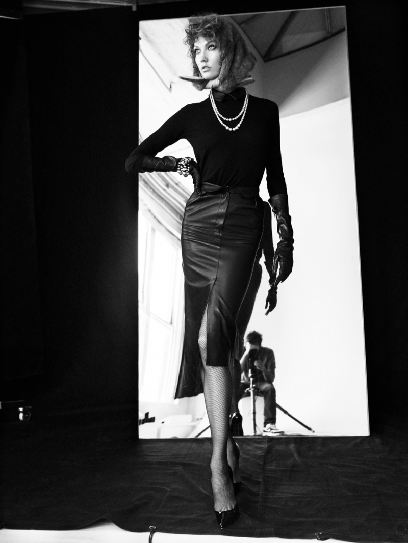karlie kloss victor demarchelier2 Karlie Kloss Stuns in Antidote Magazine Shoot by Victor Demarchelier