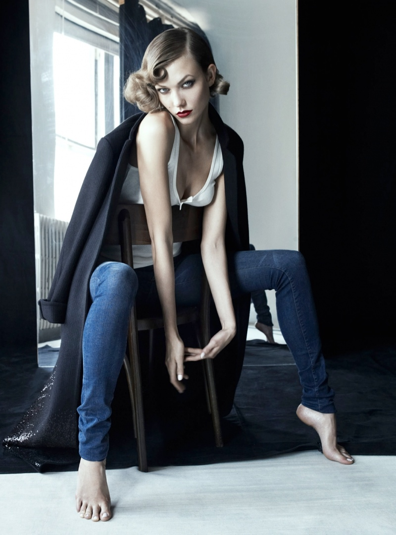 Karlie Kloss Stuns in Antidote Magazine Shoot by Victor Demarchelier