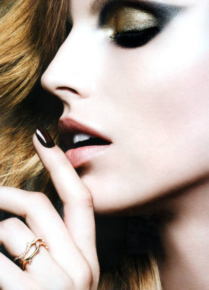 karlina beauty1 Karlina Caune Shines in Dior Magazine F/W 2013 by Ben Hassett