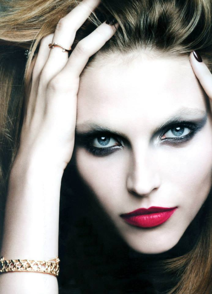 karlina beauty3 Karlina Caune Shines in Dior Magazine F/W 2013 by Ben Hassett
