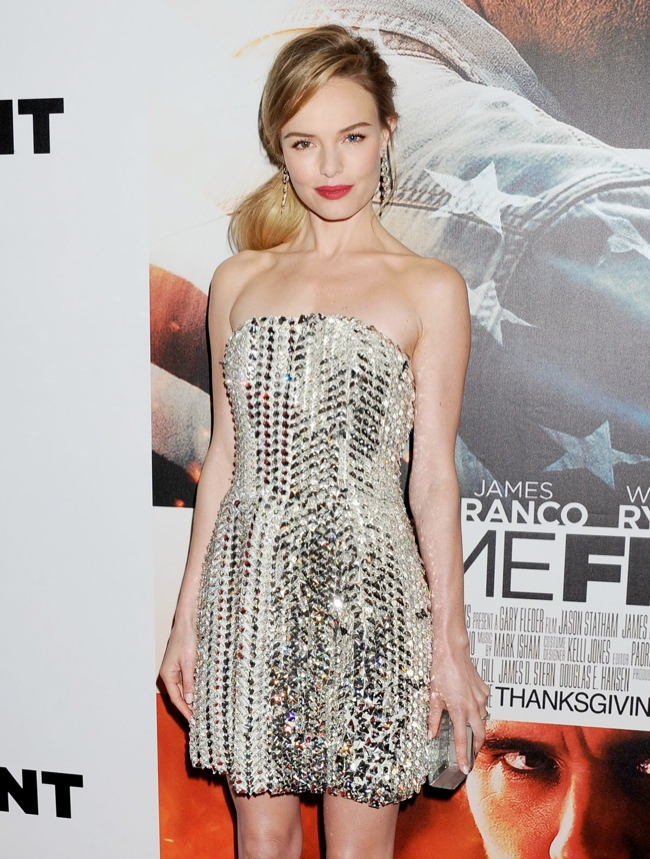 kate bosworth fendi dress1 Kate Bosworth Dazzles in Fendi at Homefront Las Vegas Premiere