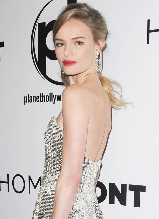 kate bosworth fendi dress3 Kate Bosworth Dazzles in Fendi at Homefront Las Vegas Premiere