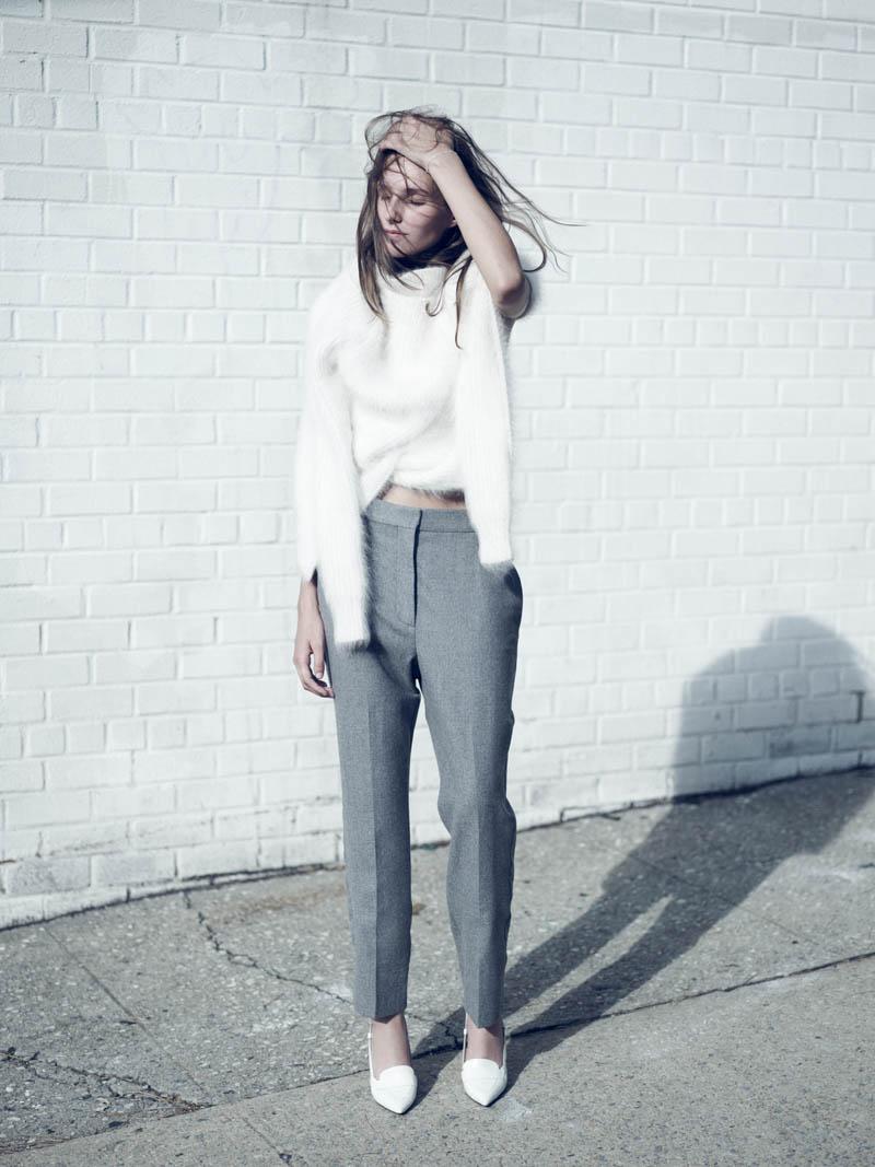 kelsey van mook4 Kelsey Van Mook Models Knitwear for Annemarieke van Drimmelen in Rika