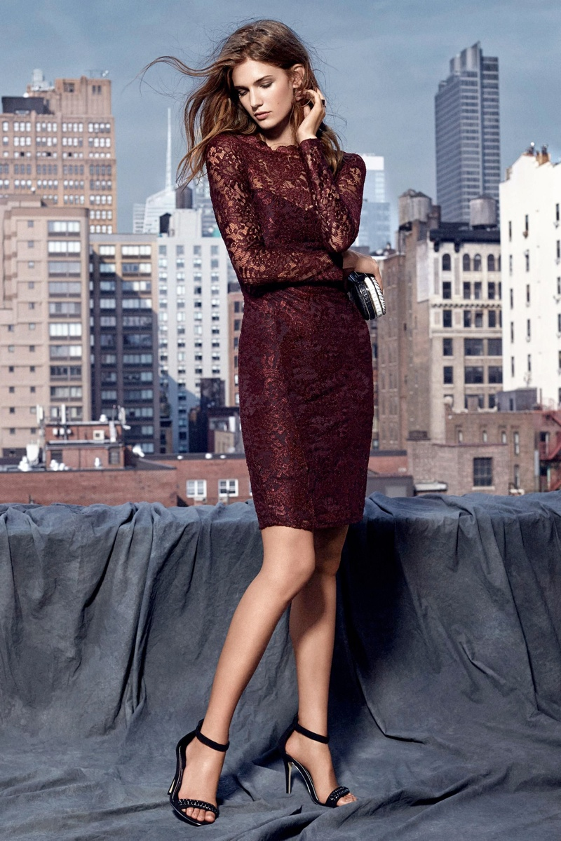 kendra spears next winter ads6 Kendra Spears Fronts Nexts Winter 2013 Campaign