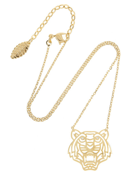kenzo tiger necklace Holiday Gift Guide 2013 | 16 Jewelry Pieces