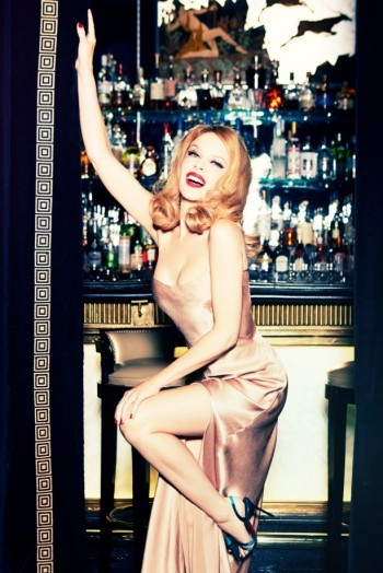 Kylie Minogue Charms for Ellen von Unwerth in GQ Shoot
