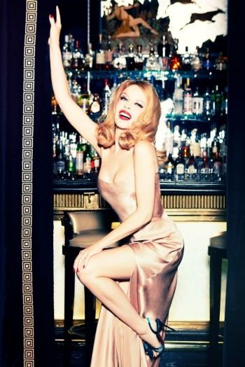 Kylie Minogue Charms for Ellen von Unwerth in GQ Shoot