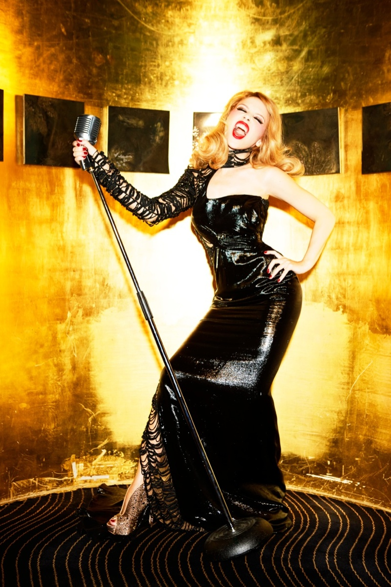 kylie minogue pictures5 Kylie Minogue Charms for Ellen von Unwerth in GQ Shoot