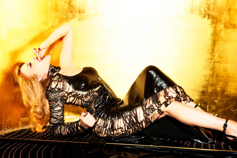 kylie minogue pictures6 Kylie Minogue Charms for Ellen von Unwerth in GQ Shoot
