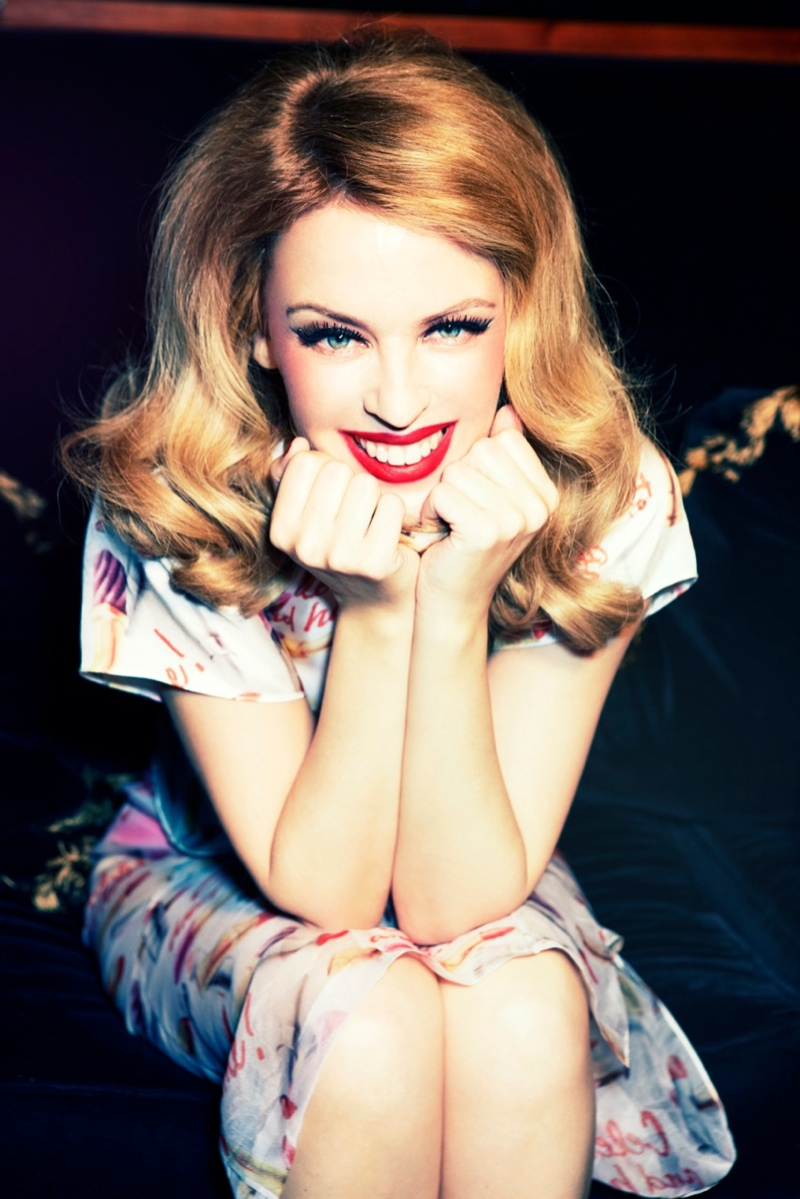kylie minogue pictures8 Kylie Minogue Charms for Ellen von Unwerth in GQ Shoot