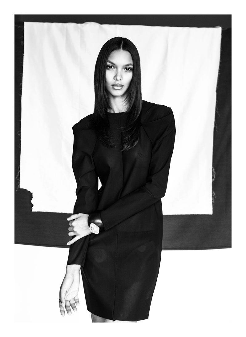 lais ribeiro model2 Lais Ribeiro Stuns in Images by Jurij Treskow