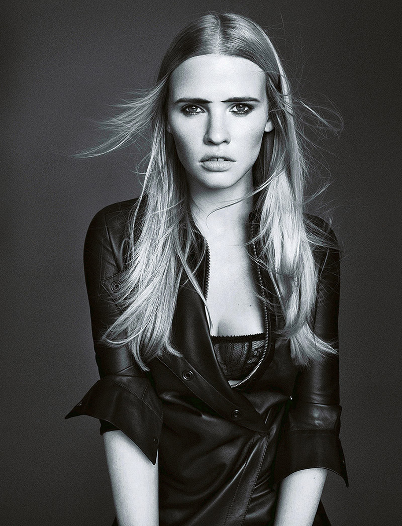 lara stone pictures1 Lara Stone Wows in New Shoot for Madame Figaro by Nico