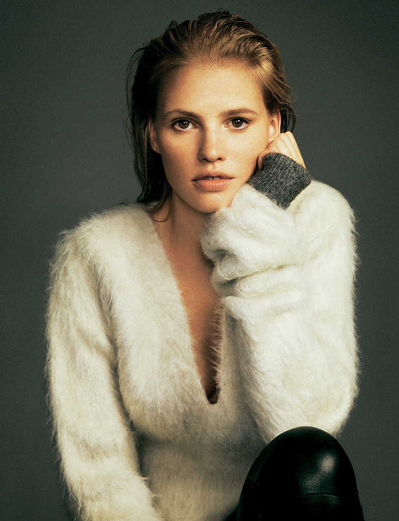 lara stone pictures2 Lara Stone Wows in New Shoot for Madame Figaro by Nico