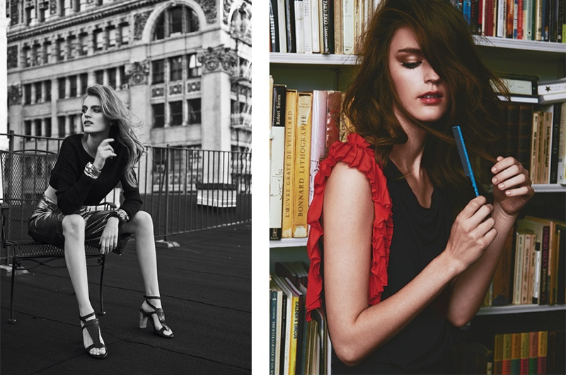 Laura Kampman Enchants in Harper's Bazaar Latin America by Hans Neumann