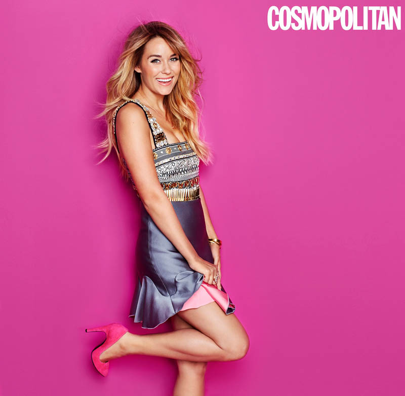 lauren conrad cosmopolitan Lauren Conrad Covers Cosmopolitan January 2014